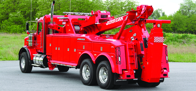 JERR-DAN 35 TON INDEPENDENT WRECKER