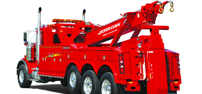 JERR-DAN 60 TON INDEPENDENT WRECKER