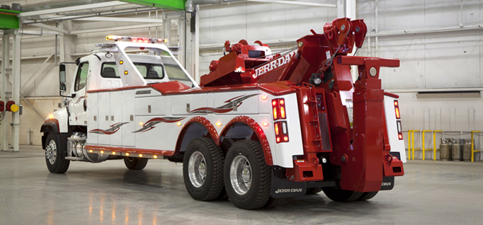 JERR-DAN 25 TON INTEGRATED WRECKER