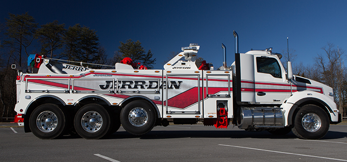 JERR-DAN 35 TON JFB INTEGRATED WRECKER